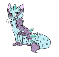 Indigo Cat Adopt | Auction closed by oOFrosteehOo