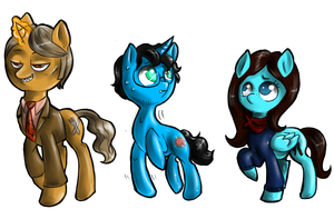 Hannibal - MLP murder family by FuriarossaAndMimma