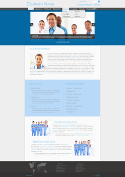Medical Co. Professional Web Design V6 by Death-GFx