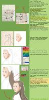 How I did the Hair by PhoenixiaRed