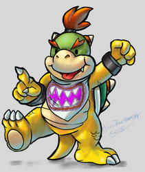 Bowser Jrs journey by HG-The-Hamster