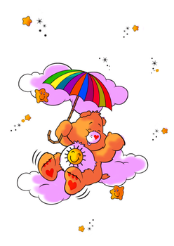 care bears sun by honey-cookie-flash