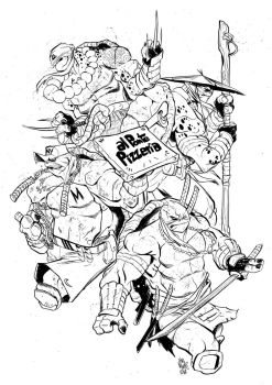 TMNT 2014 by alessandromicelli