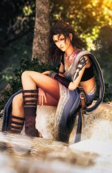 Oerba Yun Fang: The Springs by LoneWolf117