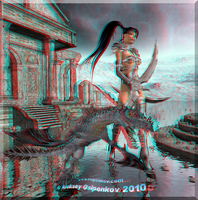Fantasy 02 3D Anaglyph by Osipenkov