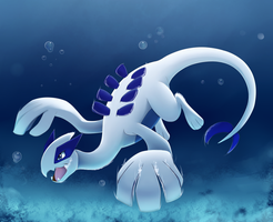 Lugia by TheBowtieOne