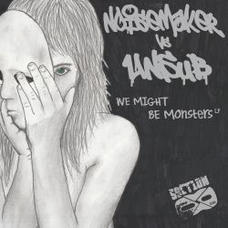 Unsub vs n0isemakeR - We Might Be Monsters LP by LilyUnsub