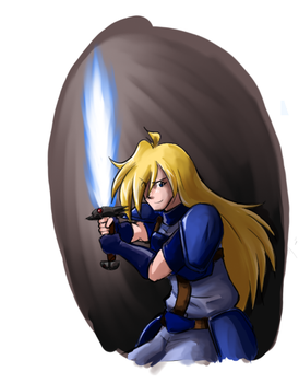 Slayers Week 1- Gourry Gabriev by ThreeTwo