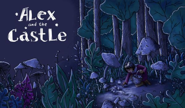 Alex and the castle by bustavshica