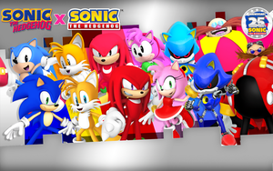 SonicClassic X SonicModern Wallpaper Size2880X1800 by Nibroc-Rock