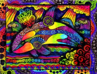 Colors of the Orca (FOR SALE) by HGCreations