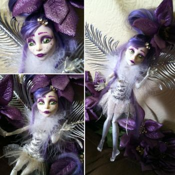 Sugar Plum Spectra: Monster High Custom by TerribleToadQueen