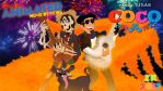 Hewy's Animated Movie Reviews: COCO title card by AverageJoeArtwork