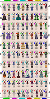 Outfit Adoptable Set 4 - OPEN (2/100) by imaginary-shops