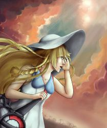 Lillie the girl chosen by the stars by Lhuckas