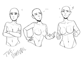 Girls Free Reference I by The-Daffodil