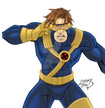 Cyclops 2012 COLORED by LucasAckerman