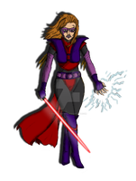Dathomir Witch colored by HarryWatson