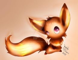 ...Little fire fox... by Joakaha