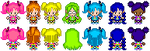 Request: Confectionery Cuties Sprites by PrettySoldierPetite