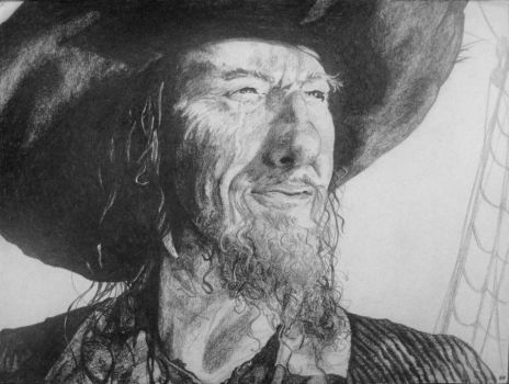 Captain Barbossa by PedTuron