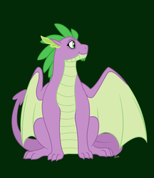 Spike the Dragon by Quincydragon