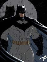 Batman's New Costume by Hal-2012