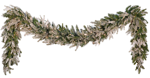 Xmas garland png 3 by iamszissz