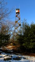 Sterling Forest Fire Tower by peterkopher