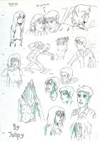 SH movie - Sketch Dump II by Julipy