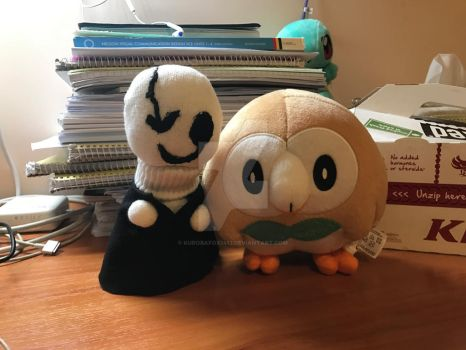 Two more to my plushie collection :3 by KurobaFox1412
