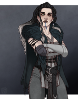 [Critical Role] Yasha by hes-per-ides