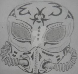 Cyber Punk Skull by NocturnalHouse