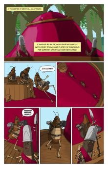 Kingdom Page Three by Gargantuan-Media