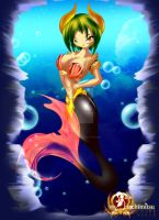 Mermaid Arceid - alascarmesis by Sunrise-oasis