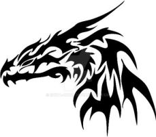 Dragon Logo by shiva-dono