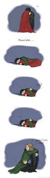 Loki misses his brother by GoreChick
