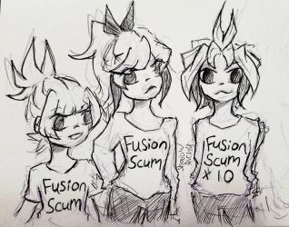 some fusionist by shadowrichu