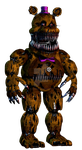 Nightmare Fredbear by DarkVirus87