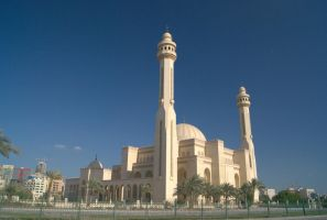 Al Fateh Grand Mosque (rear) - Bahrain by wafitz