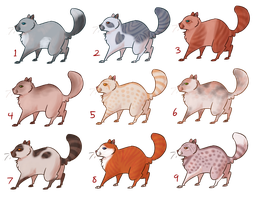 10pt Warrior Cat Adopts--CLOSED by EleventhChosenOne