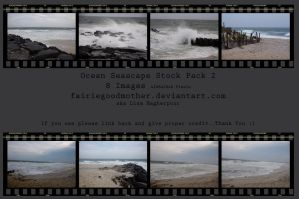 Ocean Seascape Stock Pack 2 by FairieGoodMother