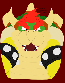 Bowser (Nintendo) by Yoshiknight2