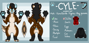 Cyle Ref Sheet | October 2017 by rethetta