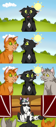 Ravenpaw Is Finding His Way by MaeraFey