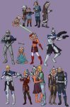 Through the ages by Toxo