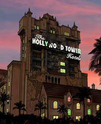 The Tower of Terror by thadesoben