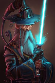 Space Wizard by 3nrique