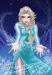 Queen Elsa by wayner8088