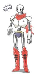 Cybertale Papyrus (Concept design) by SnajeyArt